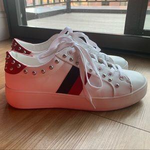 Steve Madden Studded Tennis Shoes